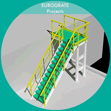 3D technical design of vertical ladders