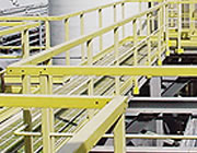 FRP safety handrails