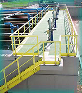 photo of fencing and safety handrails