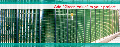 fencing for electrical plants