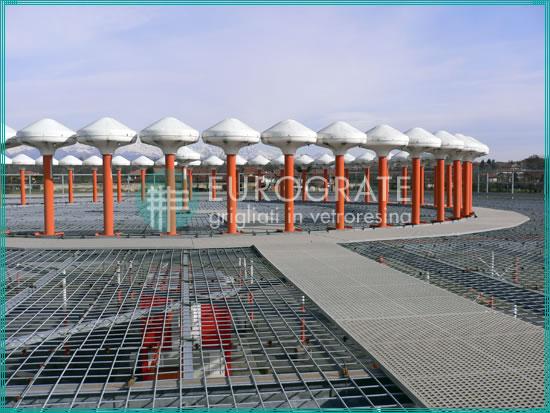 grigliati installati in presenza di radar aeroportuali