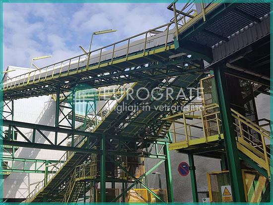 strutture autoportanti per la sicurezza del personale in ogni fase dell'impianto minerario