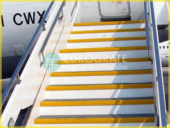 Copri gradini per le scalinate degli aerei