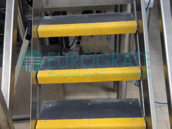 Copri gradini per la sicurezza delle scale in metallo