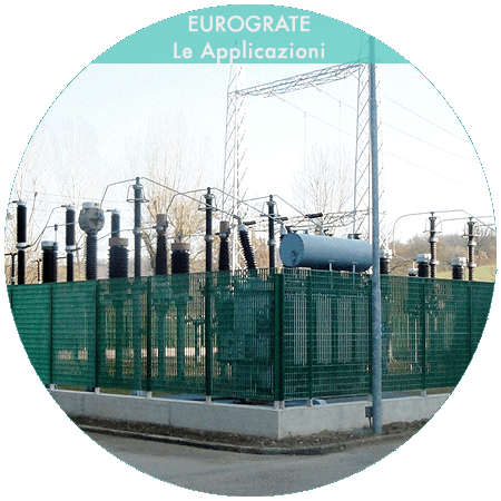 recinzioni industriali per la sicurezza delle centrali elettriche