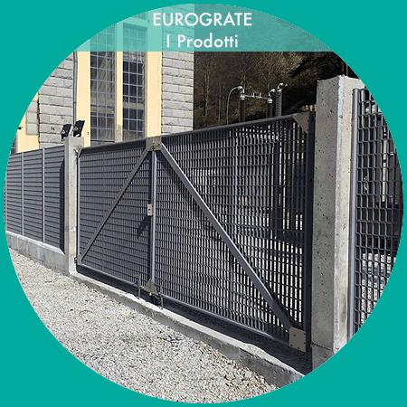 recinzioni industriali con bobine elettriche e cancello automatico su misura
