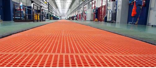 grate PRFV e prodotti in vetroresina ad uso industriale e civile