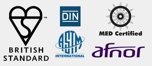 prodotti PRFV certificati e garantiti 30 anni