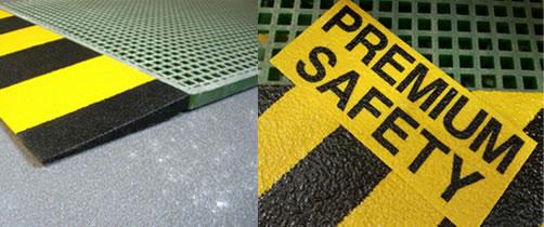 prodotti per la sicurezza: parapetti di sicurezza, angolari di sicurezza, copri pioli, laminati in vetroresina