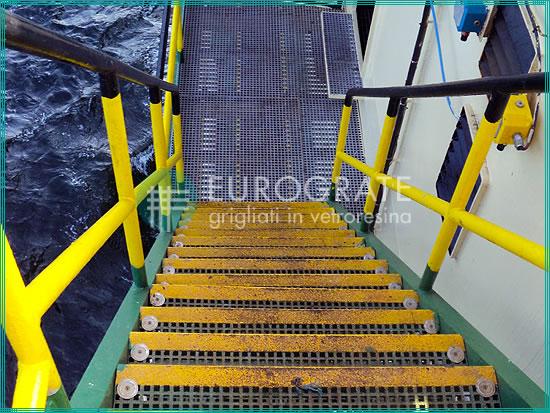 Gradini installati in ambienti corrosivi