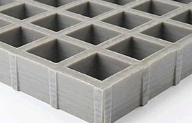 Grigliati antisdrucciolo concavi con superficie antiscivolo standard