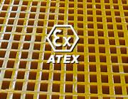 Grigliati Atex conduttivi antistatici