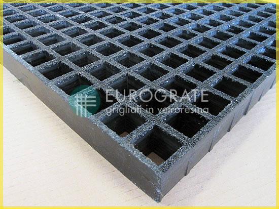 Maglia dei grigliati conduttivi di colore nero