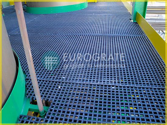 Pavimentazione in grigliato dove è richiesta una conduzione elettrica