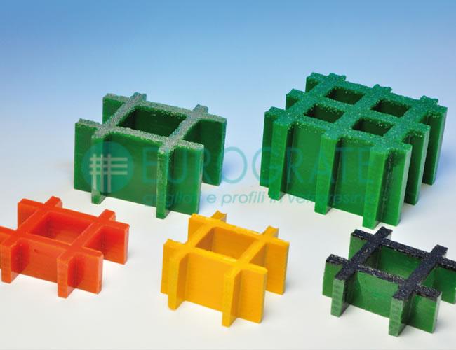 Grigliati stampati con dimensioni e colori su richiesta