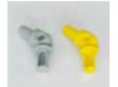 Parapetti di sicurezza connessione snodata per tubo ø 16 e 19 mm