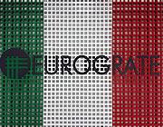 Eurograte Grigliati con i colori della bandiera italiana