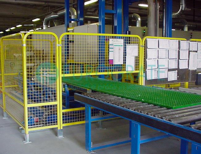 controllo qualità sulla realizzazione di parapetti di sicurezza