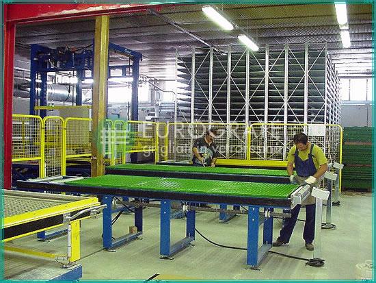 fabbricazione pannelli grigliati su misura