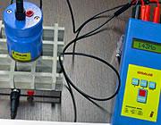 Grigliati testati con strumenti di misurazione