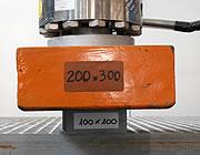Grigliati testati per la resistenza meccanica
