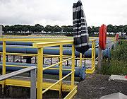 Verifica di installazione dei parapetti di sicurezza
