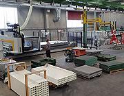 Macchina di produzione grigliati a controllo numerico: 5 assi