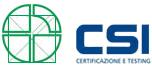 Eurograte Grigliati certificata dall'azienda CSI